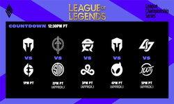 สรุปผลการแข่งขัน LOL LCS 2021 Lock In Groups Day 2