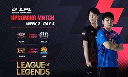 สรุปผลการแข่งขัน LPL 2021 Spring Season Week 2 Day 4