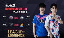 สรุปผลการแข่งขัน LOL LPL 2021 Spring Season Week 4 Day 4