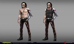 ดูภาพคอนเซ็ปของตัวละคร Johnny Silverhand ใน Cyberpunk 2077 ก่อนจะได้รับบทโดยคีอานู รีฟส์