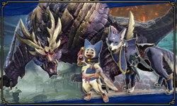 Super Smash Bros Ultimate จัดอีเว้นท์โคแลปส์ Monster Hunter Rise