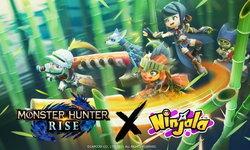 Ninjala จัดกิจกรรมพิเศษร่วมกับ Monster Hunter Rise เกมล่าแย้ภาคใหม่