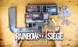 แฟนเกม Rainbow Six Siege สร้างโมเดลแผนที่ด่าน Bank Map