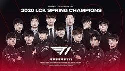 T1 ยังคงแข็งแกร่งเอาชนะ Gen.G คว้าแชมป์ LCK Spring Split 2020
