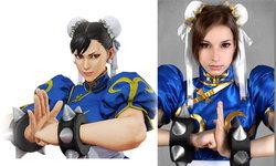 คอสเพลย์ชุนลี จากเกม Street Fighter