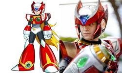 คอสเพลย์สุดเจ๋ง Zero ตัวละครในเกม Rockman หรือ Mega Man