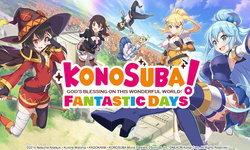 Konosuba Fantastic Days เปิดลงทะเบียนล่วงหน้าในสโตร์ไทยแล้ววันนี้