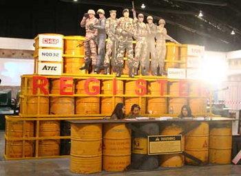 ภาพกิจกรรมเกม Special Force ในงาน ICT expo [PR]
