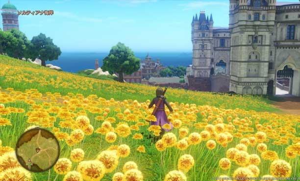 Dragon Quest XI จัดเต็มภาพฉากเมือง ฟิลด์ และดันเจี้ยนสวยๆ