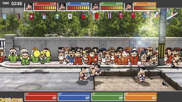 เกม คุนิโอะรวมกีฬา ภาคพิเศษเตรียมลงสนามบน PC ขายผ่าน Steam