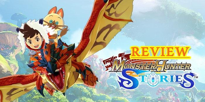 รีวิวเกม Monster Hunter Stories เกมมอนฮันภาคพิเศษ ภาษาอังกฤษ