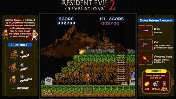 เกมมาไคมูระ เป็นมินิเกมแถมฟรี ในเกม Resident Evil Revelations