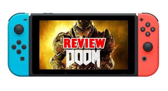 รีวิวเกม DOOM Nintendo Switch เกมยิงในตำนานฉบับพกพา