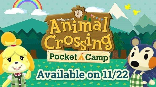 Animal Crossing Pocket Camp ภาคสมาร์ทโฟน มาแน่ 22 พ.ย. นี้
