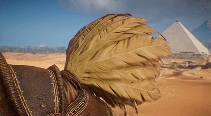 นกโจโคโบะ จาก Final Fantasy โผล่ในเกม Assassins Creed Origins