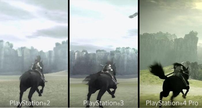 เทียบกันชัดๆเกม Shadow of the Colossus ฉบับรีเมค บน PS4 กับต้นฉบับบน PS2