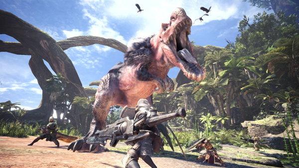 เกม Monster Hunter World จะมีตัวอัพเดทให้โหลดฟรี หลังจากเกมวางขาย