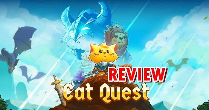 รีวิวเกม CatQuest เกม RPG รองรับภาษาไทยบน PS4  Nintendo Switch
