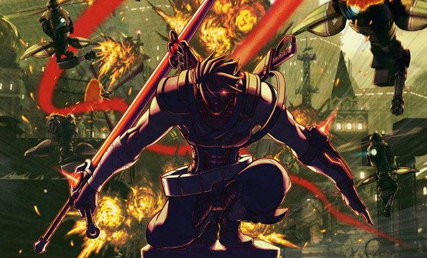 Capcom คืนชีพนินจาสงคราม Strider Hiryu