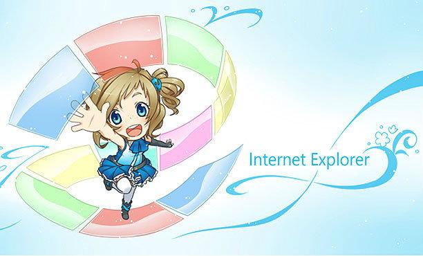 Internet Explorer กลายร่างเป็นสาวน้อยเวทมนตร์