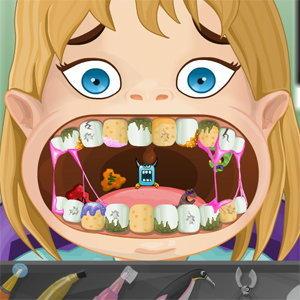 เกมส์ทำฟันให้เด็กน้อย
