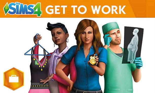 The Sims 4 Get To Work ภาคเสริมตัวแรกกำลังมา!