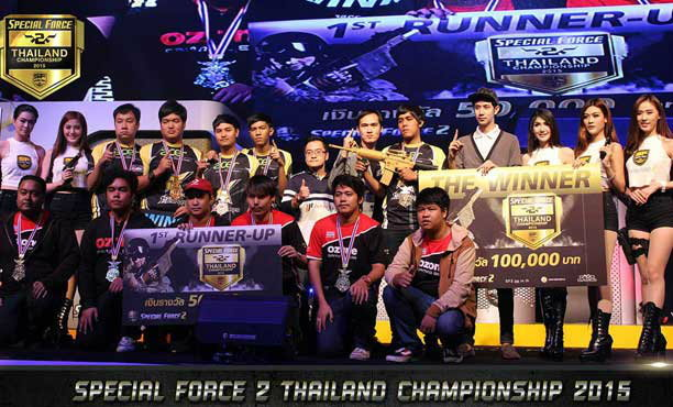 1st.Acer โชว์ฟอร์มแรง คว้าชัย Special Force 2 Thailand Championship 2015