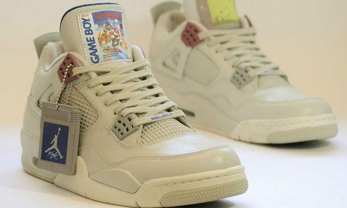 Air Jordan รุ่น Game Boy Edition เป็นมากกว่าการสวมใส่