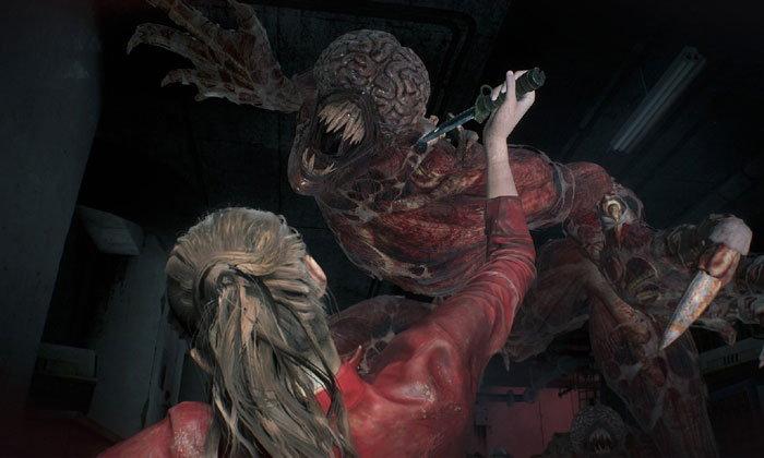 สยองไปกับเจ้าลิ้นยาว Licker ในคลิปเกมเพลย์ใหม่ของ  Resident Evil 2 Remake