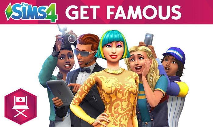 เตรียมตัวเป็นดาราซุปเปอร์สตาร์ใน Get Famous ภาคเสริมตัวใหม่ของ The Sims 4
