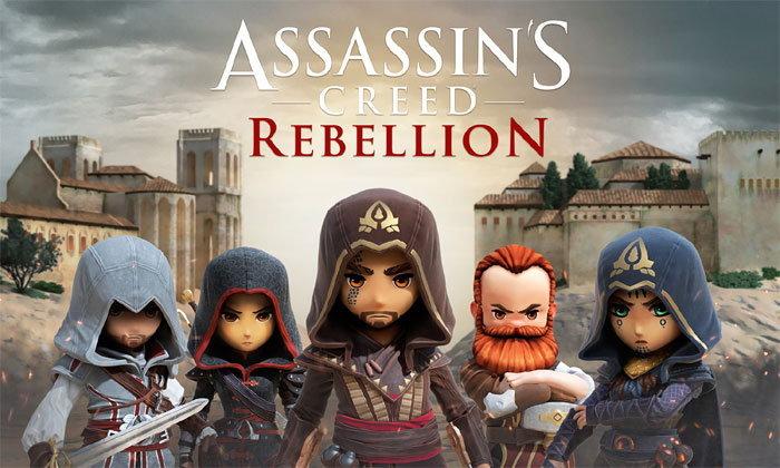 Assassin's Creed Rebellion ภาคีนักฆ่าพกพา เปิดลงทะเบียนแล้ว