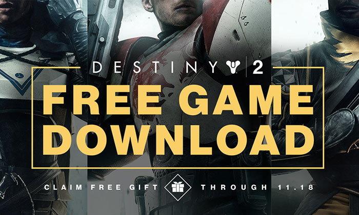 Destiny 2 แจกฟรีสำหรับผู้เล่นชาว PC Battlenet เท่านั้น
