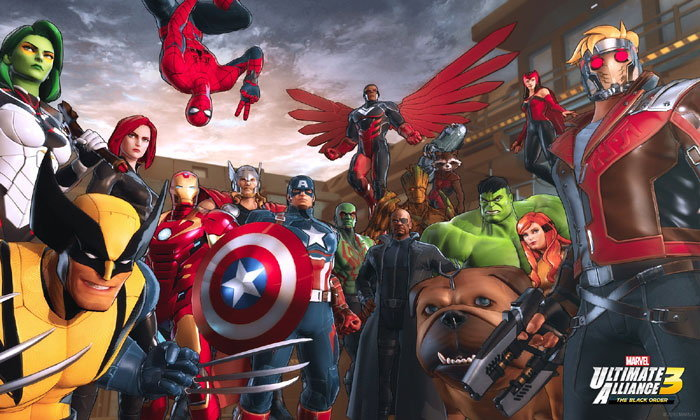Marvel ประกาศเปิดตัว Marvel Ultimate Alliance 3 The Black Order