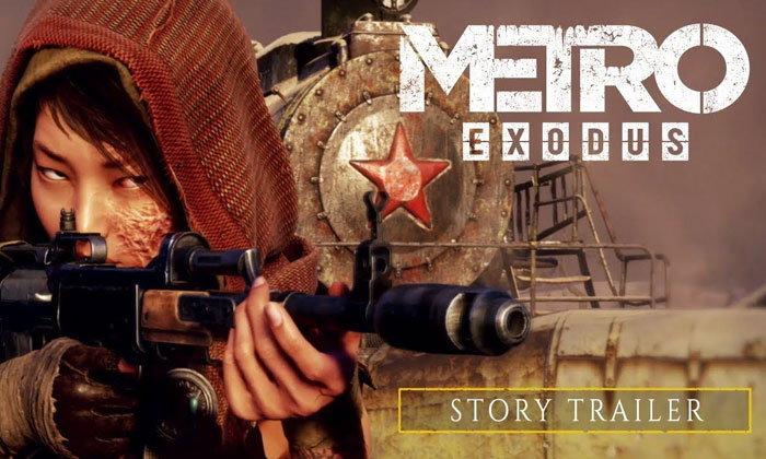 ชมตัวอย่างเนื้อเรื่องสุดเข้มข้นของเกมหายนะวันสิ้นโลก Metro Exodus