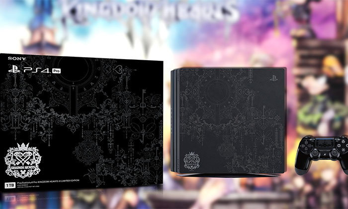 โซนี่เตรียมวางจำหน่าย PlayStation 4 Pro ลายเกม Kingdom Hearts III ในไทย