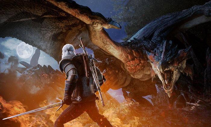 ลุงหงอก Geralt เตรียมร่วมล่าแย้ใน Monster Hunter World 8 ก.พ.นี้