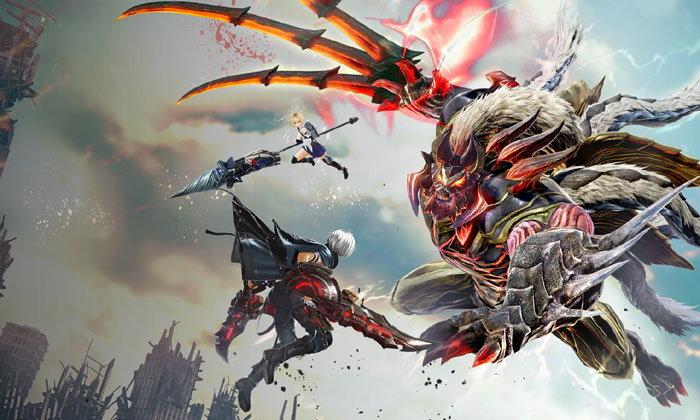 Review God Eater 3 เมื่อถูกพระเจ้าทอดทิ้ง เหล่ามนุษย์จึงต้องร่วมกันต่อสู้เพื่ออยู่รอด