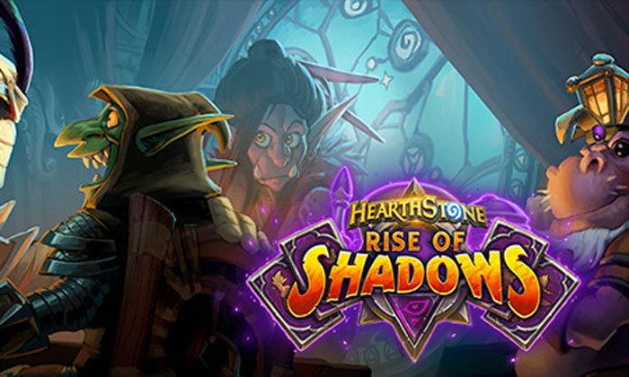 ก้าวเข้าสู่ด้านมืดและทำชั่วให้ได้ดีใน Rise of Shadows ส่วนเสริมใหม่ของ HEARTHSTONE