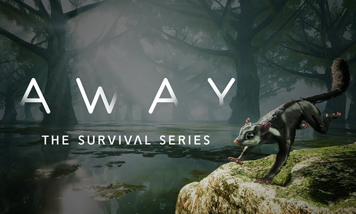 ผจญภัยโลกกว้างกับตัวชูการ์ไกลเดอร์ในเกม AWAY The Survival Series