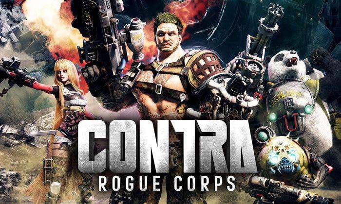 Konami เปิดตัว Contra Rogue Corps ภาคต่อของเกมยิงในตำนาน