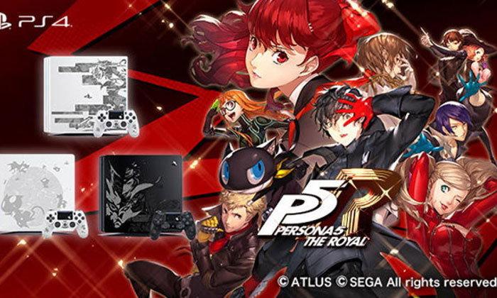 เปิดตัวเครื่อง PS4 Pro และ PS4 ลายจากเกม Persona 5 Royal ในญี่ปุ่น