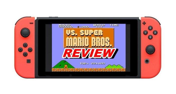 รีวิวเกม VS Super Mario Bros มาริโอฉบับอัพเกรดความยากบน Nintendo Switch