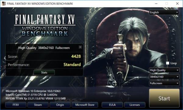 Square Enix เปิดให้ทดสอบว่า PC ของคุณเล่น Final Fantasy 15 ได้ระดับไหน