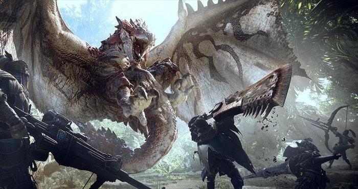 เกม Monster Hunter World ขายแบบดาวน์โหลดได้ 50 ของยอดขายทั้งหมดในญี่ปุ่น