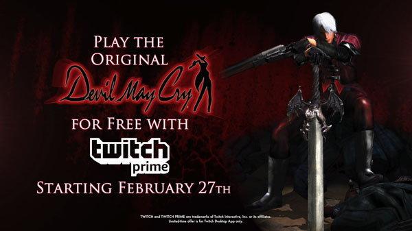 Capcom ใจดีแจก Devil May Cry ภาคแรกฟรีสำหรับสมาชิก Twitch ระดับ Prime