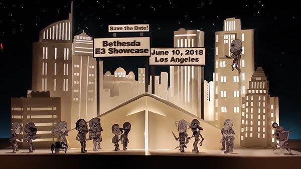 ค่ายเกม Bethesda ประกาศโชว์เกมในงาน E3 วันที่ 10 มิถุนายน นี้