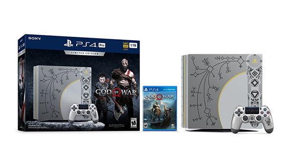 เปิดตัวเครื่อง PS4 Pro ลายพิเศษจากเกม God Of War ภาคใหม่