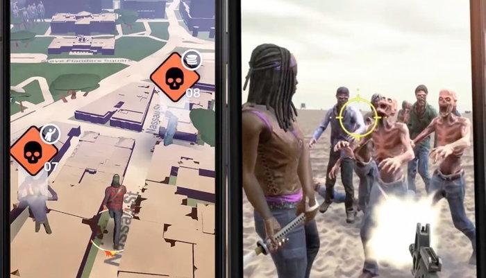 ออกล่าซอมบี้บน Google Maps กับเกมใหม่จากซีรีส์ Walking Dead