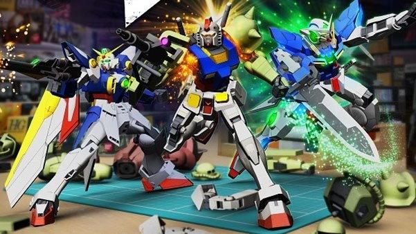 เกม Gundam Breaker วางขายบน PS4  PC มิถุนายน นี้
