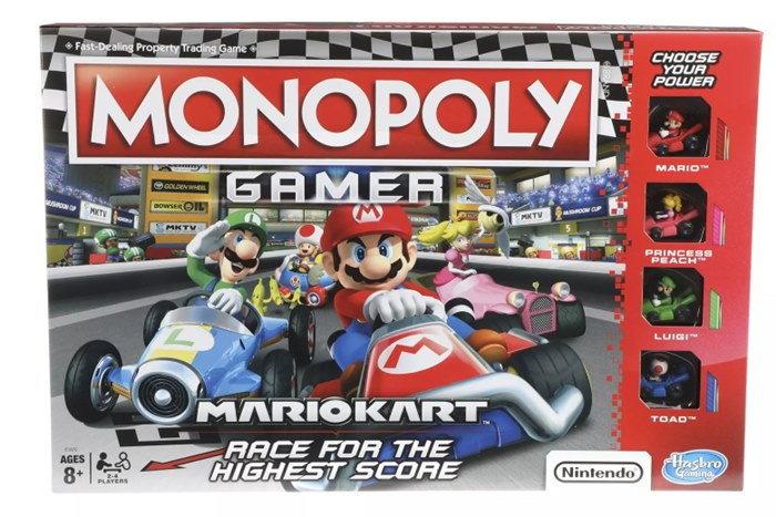 เตรียมพบกับเกมเศรษฐี Monopoly จากเกม Mario Kart